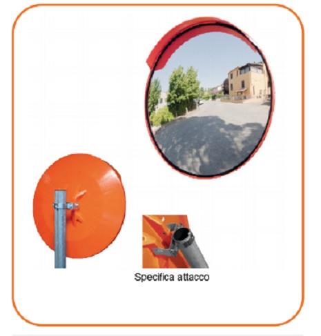 Specchio stradale circolare parabolico sisas modello - Specchio parabolico stradale normativa ...