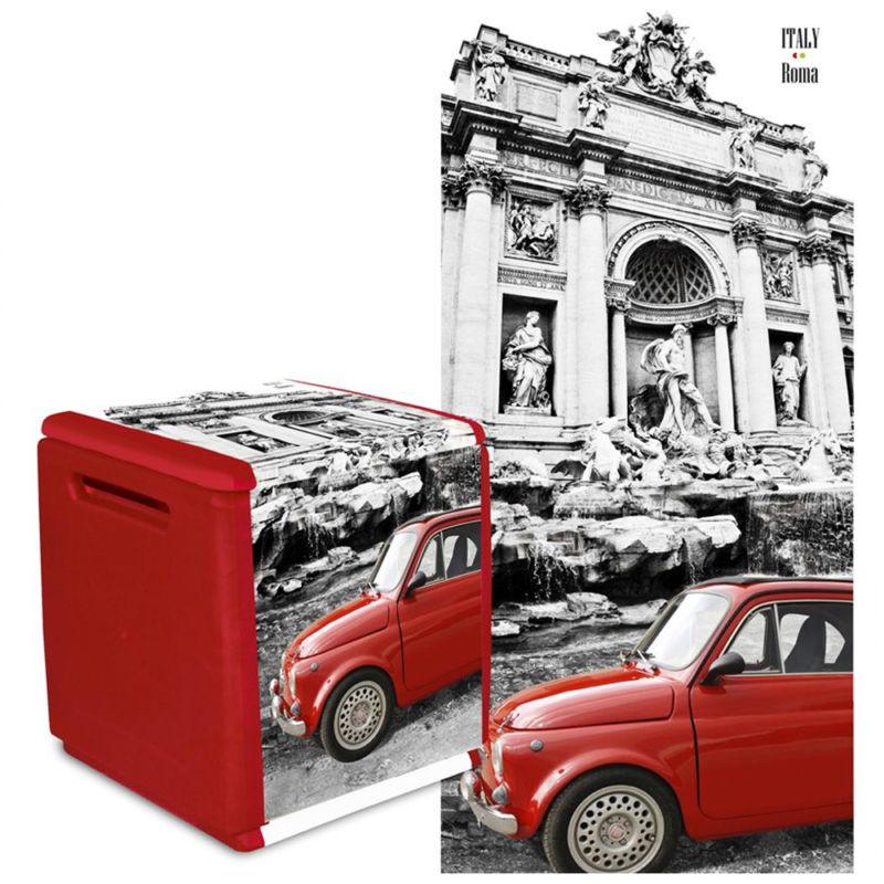 Baule contenitore da esterno in resina modello cube art for Baule esterno