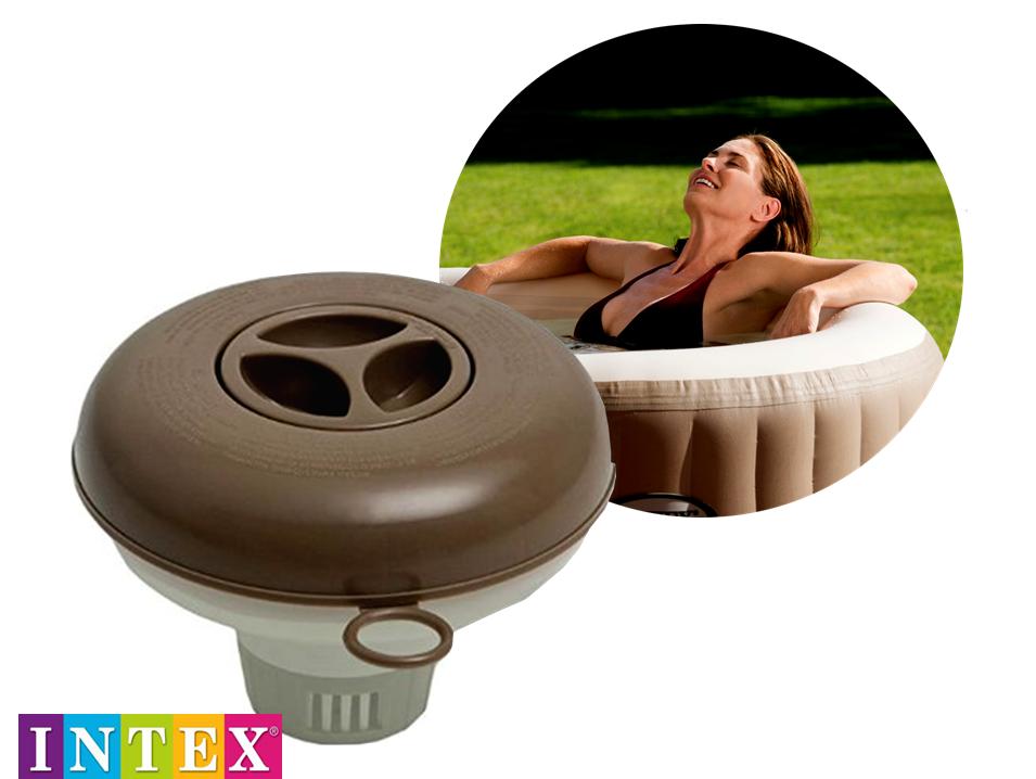 dispenser galleggiante diffusore cloro per piscine intex. Black Bedroom Furniture Sets. Home Design Ideas