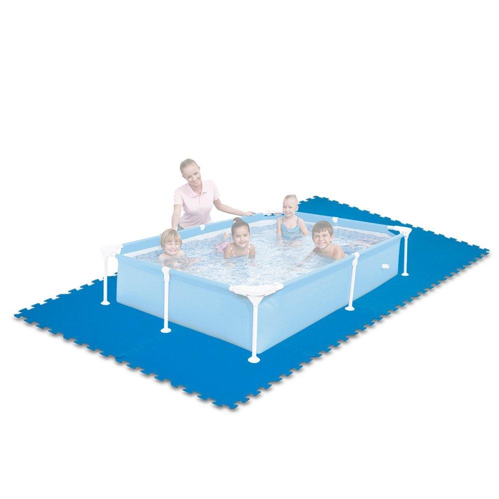 Tappetino per piscina piastrella antiscivolo cm 50x50 pezzi 8 art 29081 ferramenta fercolor - Tappetino per piscina ...